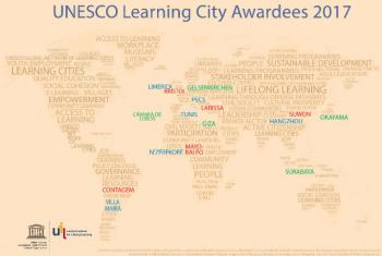 Prêmio Cidades Aprendizagem. Imagem: Unesco