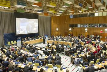 Fórum da Juventude 2017. Foto: ONU/Rick Bajornas