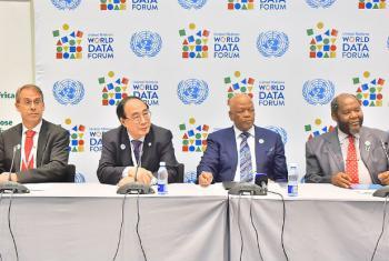 Abertura do Fórum Mundial de Dados da ONU. Foto: Statistics SA/Mbongiseni Mndebele