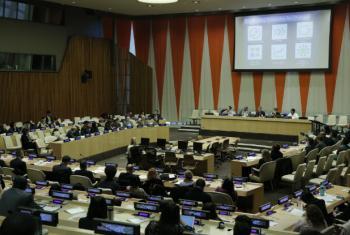 Encontro sobre saúde mental na sede da ONU, em Nova York. Foto: ONU/Evan Schneider