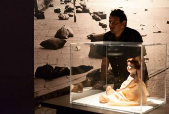 Familiares podem contribuir com objetos pessoais dos sobreviventes. Foto: Museu do Holocausto/Maringas Maciel