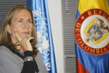 Tania Patriota. Foto: Divulgação/Missão ONU Colômbia