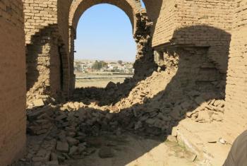 Ashur, no Iraque, Patrimônio Mundial da Unesco. Foto: Unesco/S. Al-Khoja