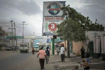 Mogadíscio, capital da Somália. Foto: AU/UN IST/Stuart Price