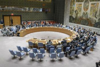 Votação no Conselho de Segurança. Foto: ONU