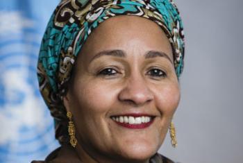 Amina Mohammed. Foto: ONU/Mark Garten