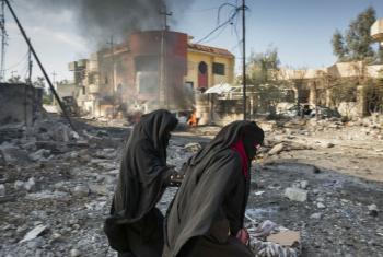 Carro bomba explode em Mosul, Iraque. Foto: Acnur/Ivor Prickett