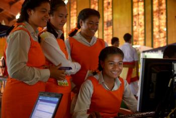 O número de graduadas no campo das ciências da computação, na América Latina, caiu até 13% nos últimos 17 anos.Foto: Banco Mundial/Tom Perry
