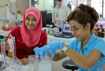 Dia Internacional para Mulheres e Meninas na Ciência. Foto: Banco Mundial/Nafise Motlaq