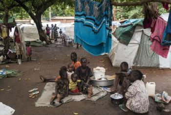 Deslocados pelo conflito no Sudão do Sul. Foto: Unicef/UN027524/Ohanesian