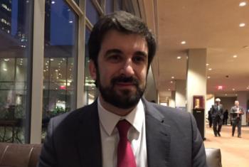 Ministro da Educação de Portugal, Tiago Brandão Rodrigues. Foto: ONU News