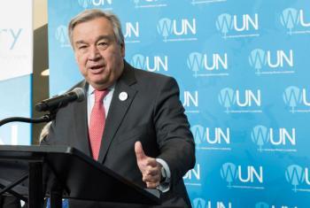 António Guterres. Foto: ONU/Mark Garten