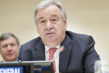 António Guterres na reunião sobre descolonização. Foto: ONU/Rick Bajornas