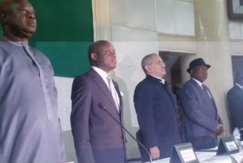Cipriano Cassama, José Mário Vaz, Ramos Horta e Rui Nene. Foto: Amatijane Candé