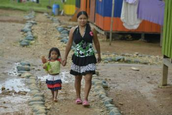 Indígenas em Caqueta, na Colômbia. Foto: Acnur © UNHCR/Sebastian Rich
