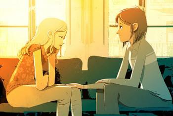 """Campanha da OMS sobre depressão: """"Vamos Conversar?"""". Ilustração: OMS"""
