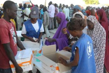 PMA entrega mantimentos na Nigéria. Foto: WFP/Amadou Baraze