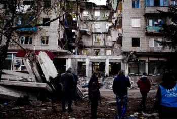 Situação no leste da Ucrânia permanece volátil e continua tendo um forte impacto nos direitos humanos. Foto: Acnur