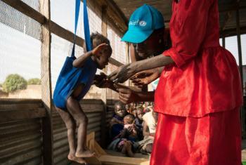 22 milhões de crianças podem morrer de fome em breve se a comunidade internacional não fornecer ajuda urgente.Foto: Unicef/Mackenzie Knowles-Coursin