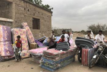 Mais de 62 mil pessoas ficaram desalojadas nas últimas seis semanas. Foto: Acnur/Shabia Mantoo