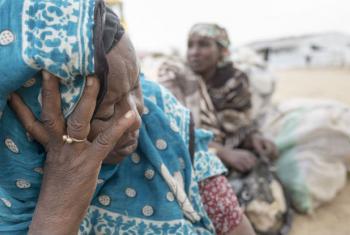 Nigerianas refugiadas em acampamento nos Camarões. Foto: Acnur/Alexis Huguet