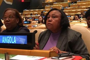 Filomena Delgado. Foto: ONU News