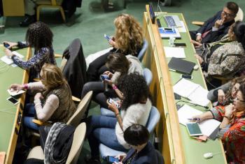 Abertura da 61ª Comissão sobre o Estatuto da Mulher. Foto: ONU/Rick Bajornas