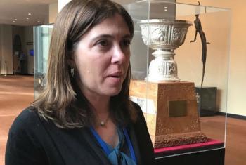 Secretária de Estado da Cidadania e da Igualdade de Portugal, Catarina Marcelino. Foto: ONU News