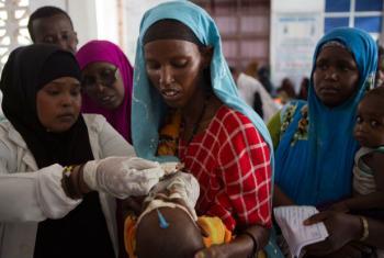 Campanha de vacinação na Somália. Foto: GAVI/Karel Prinsloo