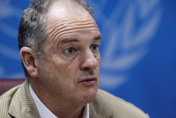 David Shearer, representante especial do secretário-geral no Sudão do Sul. Foto: Unmiss