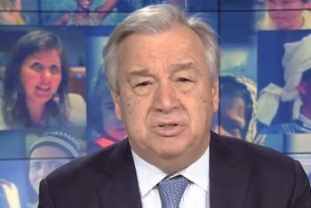 Antônio Guterres. Foto: Reprodução vídeo