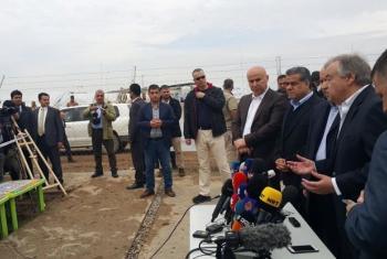 Guterres destacou que a solidariedade ao povo iraquiano e a Mossul não pode ser negada. Foto: Unami.
