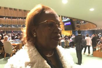 Maria Cândida Pereira Teixeira. Foto: ONU News