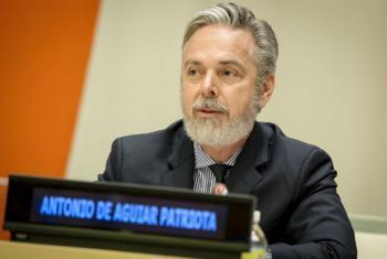 Presidente da 61ª reunião da Comissão sobre o Estatuto da Mulher, CSW, Antonio Patriota. Foto: ONU/Manuel Elias