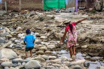 Cheias no Peru. Foto: Unic Lima/Emily Alvarez