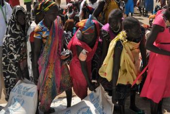 Mulheres em Ganyiel, em Unidade, no Sudão do Sul. Foto: Ocha/Gemma Connell