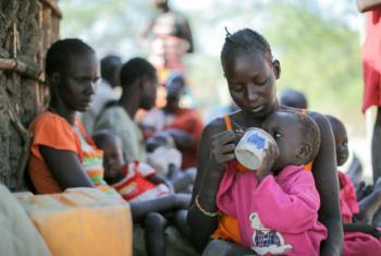 Cerca de 5,5 milhões de pessoas no Sudão do Sul, ou quase metade da população, enfrentam fome. Foto: Acnur/Rocco Nuri