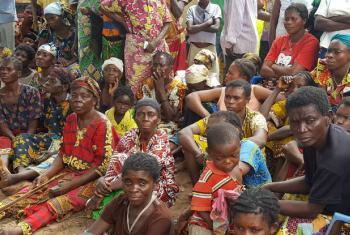 O financiamento é necessário para fornecer água, comida, serviços de saúde e utensílios para os civis. Foto: Ocha RDC/Joseph Mankamba