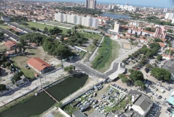 A revitalização do Parque Rachel de Queiroz é um dos focos do novo projeto. Foto: Kaio Machado/Prefeitura de Fortaleza