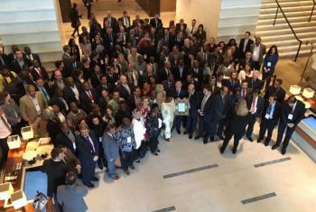 Participantes na conferência sobre DTNs em Genebra. Foto: ONU News.