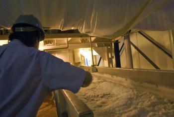 Fábrica de açúcar no Brasil. Foto: ONU/Eskinder Debebe