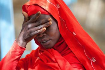 Mulher do acampamento para deslocados internos de Kassab, em Darfur Norte. Foto: Unamid/Albert González Farran