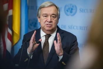 Secretário-geral António Guterres. Foto: ONU/Manuel Elias (Arquivo)