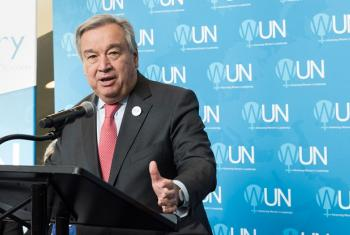 Secretário-geral da ONU, Anónio Guterres. Foto: ONU/Mark Garten.