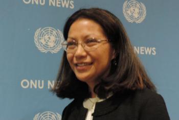 Milena Pires. Foto: ONU News