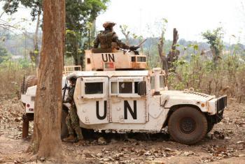 A Missão das Nações Unidas na República Centro-Africana. Foto: Minusca