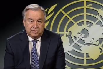 António Guterres. Foto: Reprodução vídeo