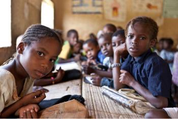 Crianças em uma escola em Timbuktu, Mali. Foto: Unicef/ Harandane Dicko