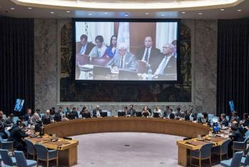 Reunião sobre o Oriente Médio no Conselho de Segurança. Foto: ONU/Kim Haughton
