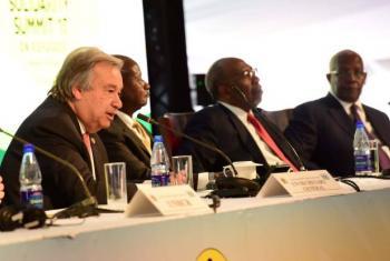 Guterres disse que vários países farão anúncios nas próximas semanas. Foto: Governo do Uganda.